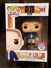 Funko Pop! NEAR MINT Shane Walsh #369 2016 NYCC Exclusive The Walking Dead READY