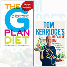 Tom Kerridge's Dopamine Diet 2 Books Collection Set (The G Plan Diet) New Pack