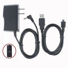 AC/DC Wall Charger Power Adapter+USB Cord For RCA Maven Pro RCT6213W87 DK Tablet