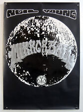 NEIL YOUNG ORIGINAL 1995 PROMO POSTER . MIRRORBALL . NOT CD