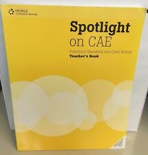 Spotlight on CAE Francesca Mansfield and Carol Nuttall Teacher's Book  NEW