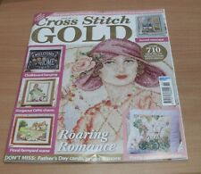 Cross Stitch Gold magazine #136 2017 Cyclamen Cushion, Farmyard, Celtic Charm &
