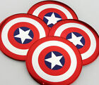 "4x 56mm 2.2"" Auto Wheel Center Hub Cap Emblem Decal Sticker for Captain America"
