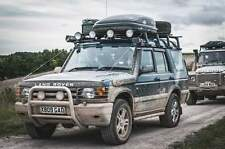 Land rover Discovery 1+2 Bushcables stainless steel By Bushcables.com