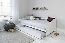 Day Single Bed With Underbed In White