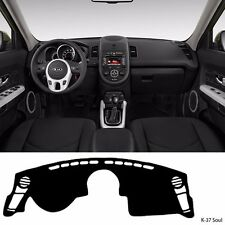 Car Dash Cover Mat Pad Sun Cover Carpet for KIA Soul 2009-2013 K37