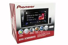 "Pioneer AVH-X3800BHS DVD/MP3/CD Player 6.2"" LCD Bluetooth HD Radio Remote New"