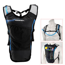 5L Bike Hydration Pack Backpack Rucksack + 2L Water Bag Bicycle Cycling Hiking