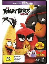 THE ANGRY BIRDS MOVIE DVD NEW SEALED R4 2016