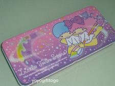 2015 Sanrio Little Twin Stars Metal Pencil Case Pencil Box pink