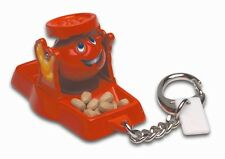 DON'T SPILL THE BEANS Keyring Keychain Retired Mini Miniature Doll Works! New
