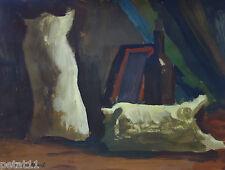 Original, Unique oil painting, Still-life signed, Claude Monet COA&DOC.