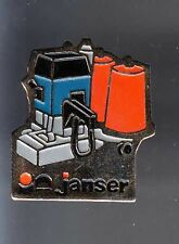 RARE PINS PIN'S .. AGRICULTURE TRACTEUR TRACTOR BTP OUTIL TOOL JANSER II ~BB