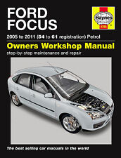 Ford Focus 1.4 1.6 1.8 2.0 Petrol 05-09 54-09 Reg Haynes Workshop Repair Manual