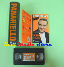 BOX VHS film + LIBRO Giorgio Panariello CHI? MONDADORI (F78) no dvd