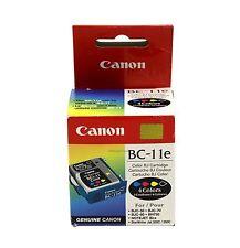 Canon BC-11E Black & Tri-Color Ink Cartridge 0907A003AA Genuine New