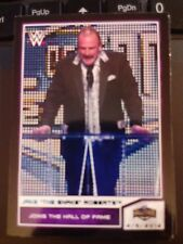 "2014 Topps WWE Road to Wrestlemania #95 Jake ""The Snake"" Roberts BLUE NrMt-MINT"