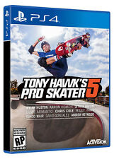 Tony Hawks Pro Skater 5 PS4 GAME BRAND NEW SEALED