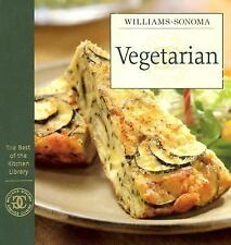 Williams-Sonoma Vegetarian The Best of the Kitchen Library-ExLibrary