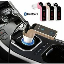 USB Charger Kit G7 Bluetooth Car Kit Handsfree FM Transmitter Radio MP3 Player