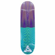 "Palace Trippy Stick 8.5"" Wide Pro Skateboard Deck Blue Purple + Griptape New"