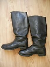 High Boots Soviet Army Officer Leather Size 41 SOVIET made in USSR