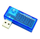 1Stk Blau USB Charger Doctor Voltage Current Meter Mobile Detect Battery Power