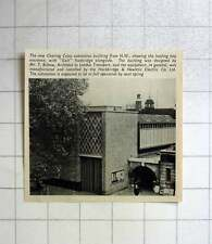 1957 New Charing Cross Substation Building Designed By Mr T Bilbow