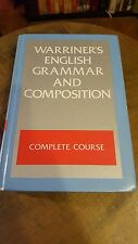 Warriner's English Grammar Composition Complete Course Textbook Book Homeschool