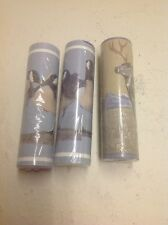 3 Rolls Vintage Coloroll Goose And Whitetail Pre Pasted Vinyl Boarder