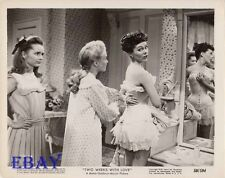 Phyllis Kirk in corset VINTAGE Photo Debbie Reynolds Jane Powell