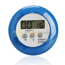 LCD Digital Kitchen Cooking Timer Count Down Up Alarm Clock Loud Magnetic Blue