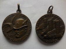 medaglia centenario fondazione alpini 1972 sezione Asti