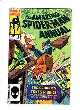 """AMAZING SPIDER-MAN ANNUAL #18  [1984 NM-]  """"THE SCORPION TAKES A BRIDE!"""""""
