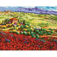 Dimensions Needlepoint Kit - Tuscan Poppies