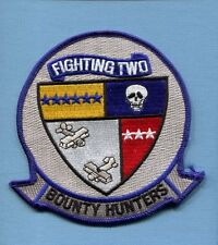 VF-2 BOUNTY HUNTERS US NAVY GRUMMAN F-14 TOMCAT Fighter Squadron Jacket Patch