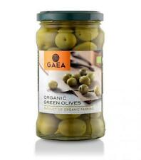 GREEK ORGANIC GREEN OLIVES 175G