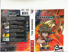 Bakugan:Battle Brawlers:vol 1-2007/14-TV Series Canada-5 Episodes-DVD