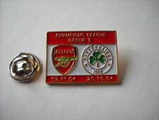 a1 PANATHINAIKOS - ARSENAL cup uefa champions league 2005 spilla football pin