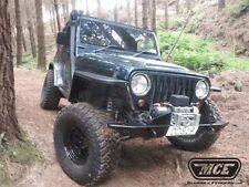"""Jeep Wrangler TJ 97-06 MCE Flexible Fenders Gen II Black 4.5"""" Fender Flare Kit"""