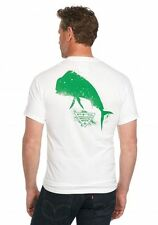 Columbia - Mens M - NWT - White PFG Silhouette Series Dorado Mahi Cotton T-Shirt