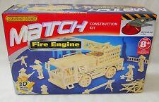 NEW MATCH TECH MATCHSTICK CONSTRUCTION KIT 3D MICROBEAMS BUILD A FIRE ENGINE