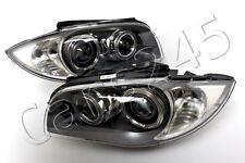 BMW 1 Serie E87 5DR E81 3DR E82 E88 2DR Bi Xenon HeadLights PAIR DRL 2007-