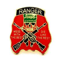 Wholesale Lot of 12 US Army Rangers Lapel Hat Pin Military PM045