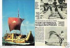 Coupure de presse Clipping 1979 (4 pages) Thor Heyerdahl