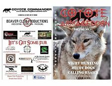 COYOTE ARMAGEDDON- COYOTE HUNTING-CALLING-DECOY DOGS- NIGHT HUNTS-$19.95SHIPPED