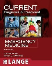 CURRENT Diagnosis and Treatment Emergency Medicine (LANGE CURRENT Series) by St