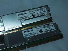 Crucial 4GB 240-Pin DDR2 FB-DIMM ECC Fully Buffered DDR2 800 DL360 G5