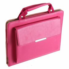 iPad Mini Hot Pink Stand Handbag Case with Handle & Storage Compartment