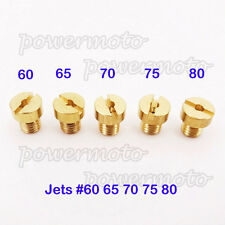 5mm Jets #60 65 70 75 80 For Dellorto SHA PHBG Carb Tomos A35 Targa LX Sprint